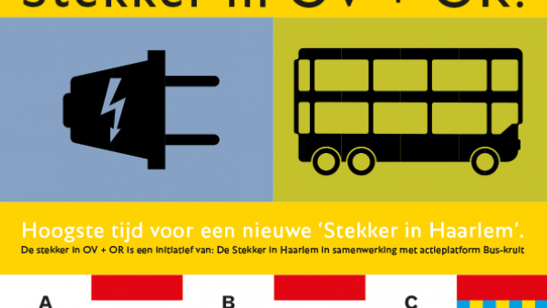De stekker over OV + OR